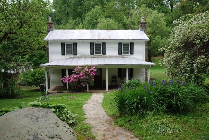 Finks-Johnson House on Strother Run