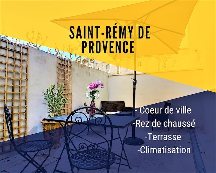 ⭐Ground floor flat in St-Rémy de Provence⭐