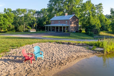 Serenity on the hill - Crooked Crow Farmhouse