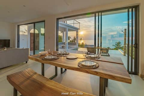 Haad Tian Villa - Sea View & Sunset