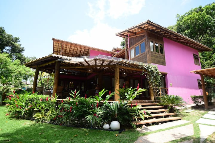 Casa na Beira da Praia - Arraial D'Ajuda