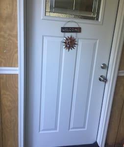 """Door measures 35"""" wide"""