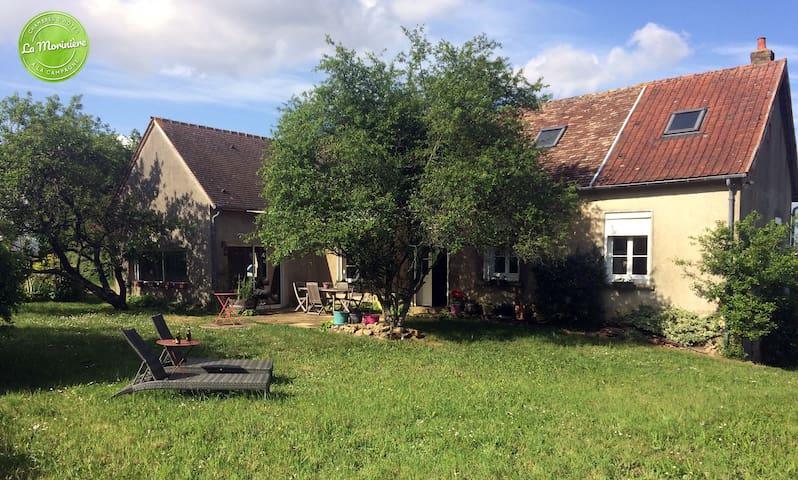 Location maison entière ou chambres à la campagne