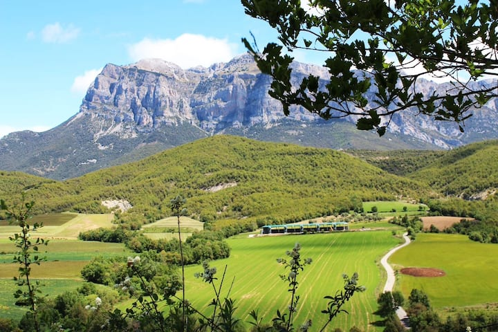 Casa en zona de montaña, Pirineo al lado de Ainsa.