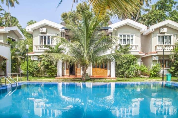 Premium 4 BHK Villa with WiFi Pool in Nature's Lap