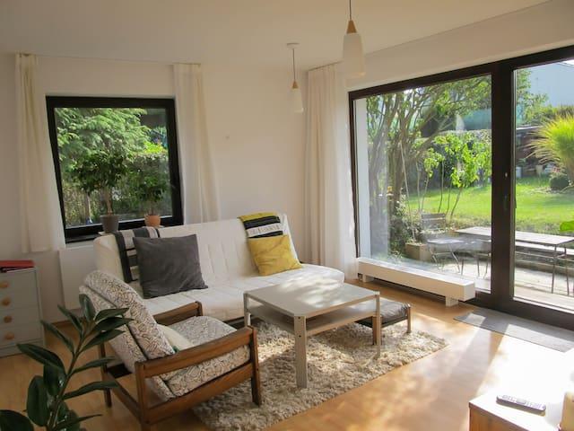 Apartment in the garden, in Černošice near Prague