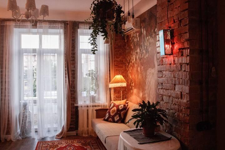 Семейные апартаменты в стиле Бохо