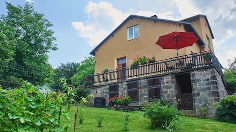 Family house in Bohemian Switzerland