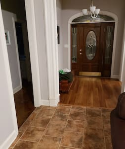entry way into house from main door