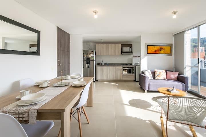 Beautiful apartment in sabaneta