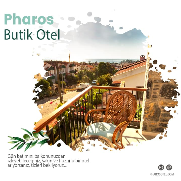 Pharos Boutique Hotel 203 Double Room with Balcony