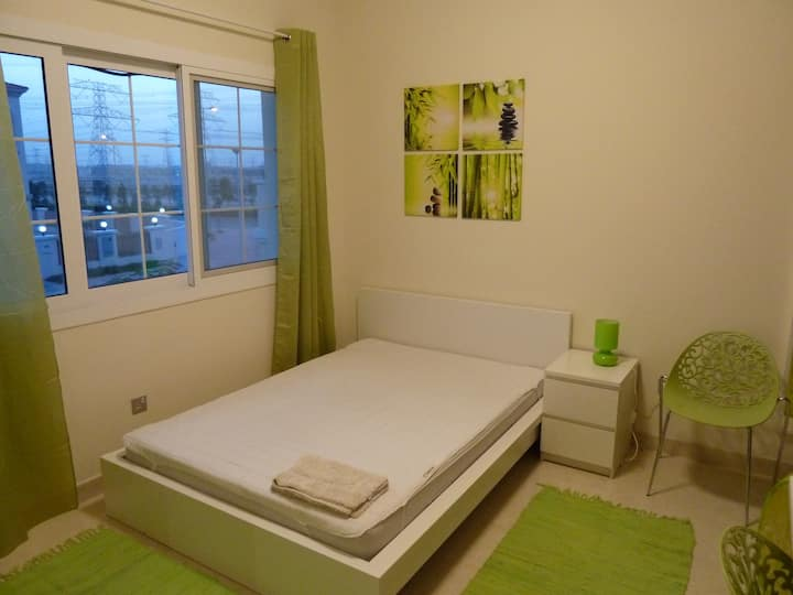 an oasis - furnished room in lovely surrounding