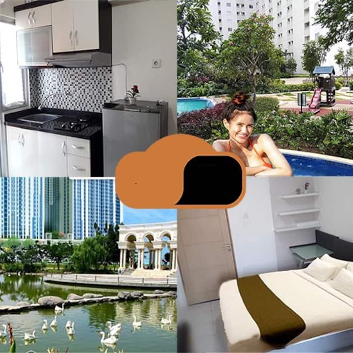 Apartment  Educity  Pakuwon dgn Danau Angsa