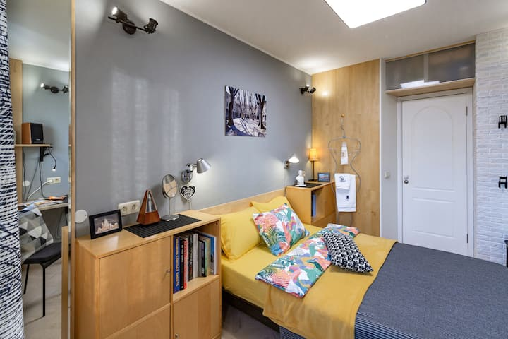 Private Room 11m² 1–2 pers in quiet developed area