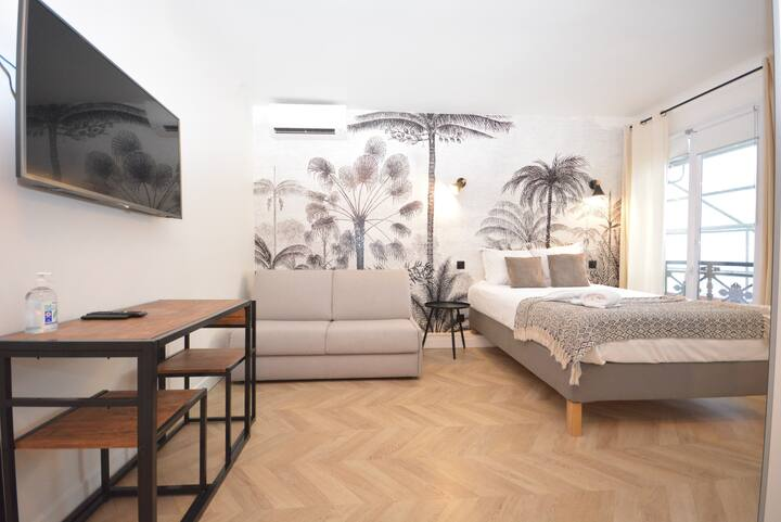 Chic Studio 1 With AC Opera Bourse