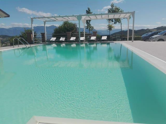 """Villa ai TRE ulivi"" with pool - Ground Floor 4p"