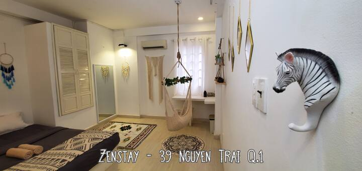 @Ben Thanh, @Bui Vien Zenstay - R1 *BEST LOCATION*