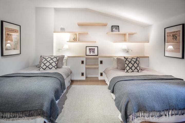 Twin en-suite room +pool in hiking/cycling heaven