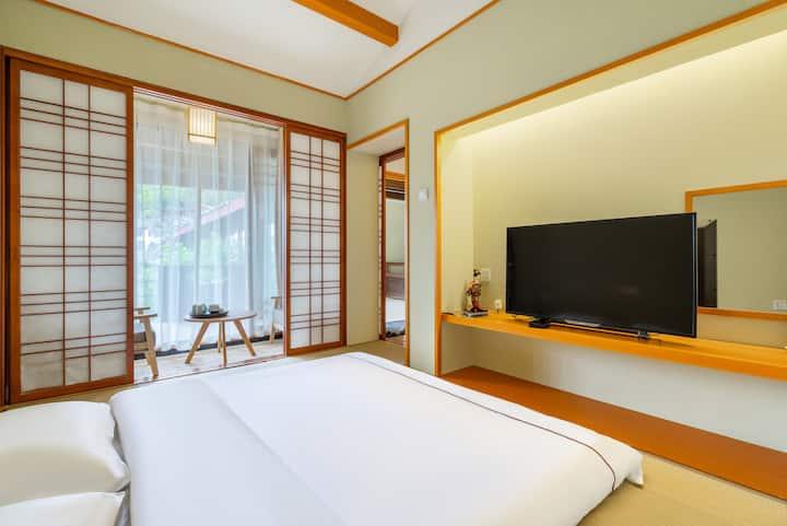 最质朴的日式风格/近大水车/近四方街—日室雅静大床房