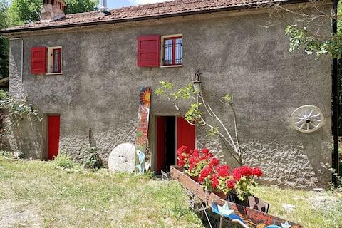 "Farmhouse ""Old stone mill"""