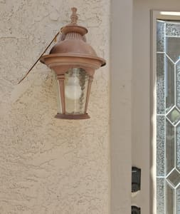 Front Entry Porch Light