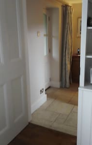 not steps on the ground floor this shows the level from front door to private lounge