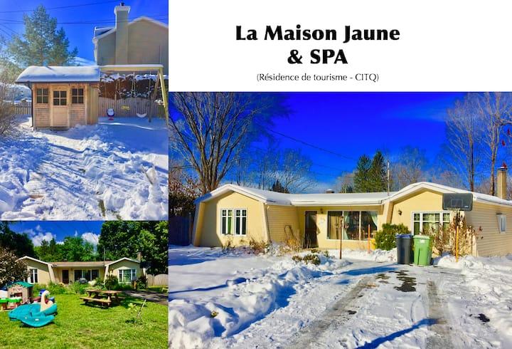La Maison Jaune & SPA - Établissement CITQ #299830