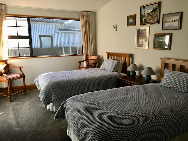 Twin Room - two King Single beds.