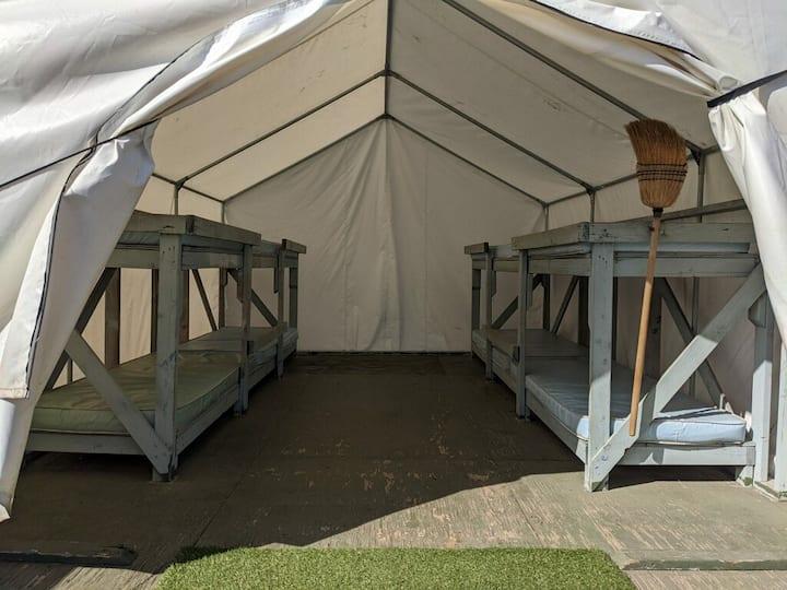 Pimu Eco Village Safari Tent at Whites Landing