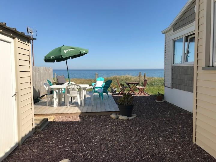 Hébergement vue sur mer sans vis à vis