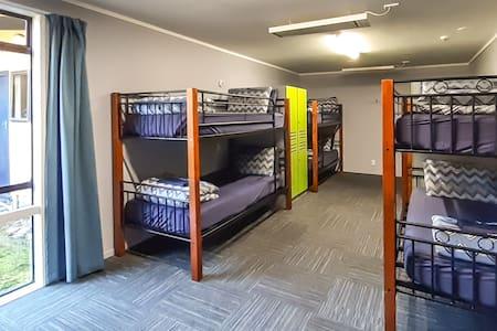YHA Franz Josef 10 bed room
