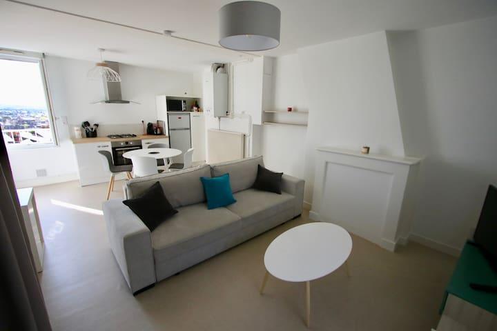 Appartement dans un quartier calme