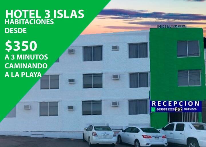 Hotel 3 Islas habitacion 403