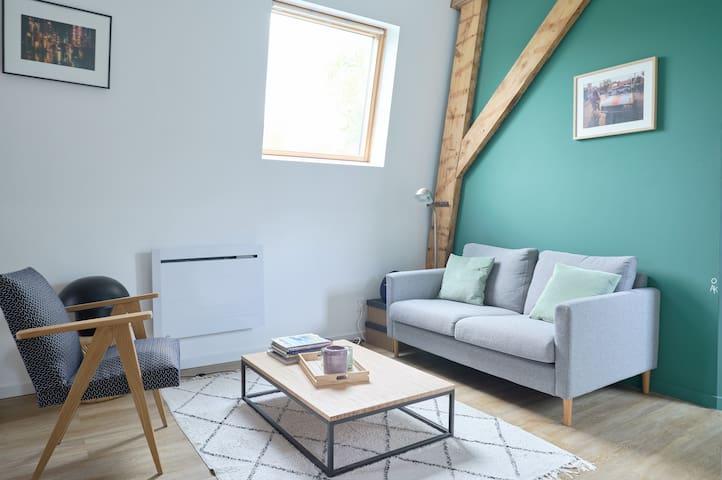 Appartement cosy au Sart