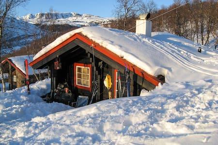 Tyin´s tiny cozy mountain cabin.
