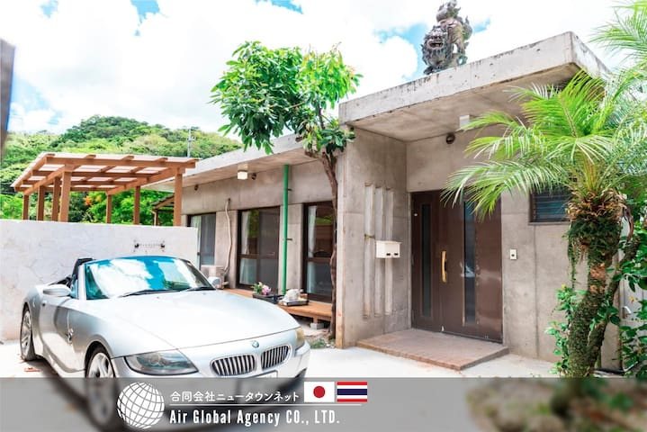 OKINAWA Jacuzzi Villa+Two bedroom & Two toilet