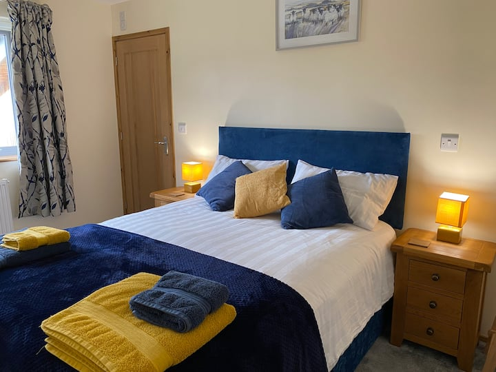Moelfre B&B : Blue Room