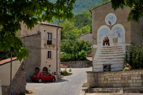 Cozy house inside The National Park of Abruzzo