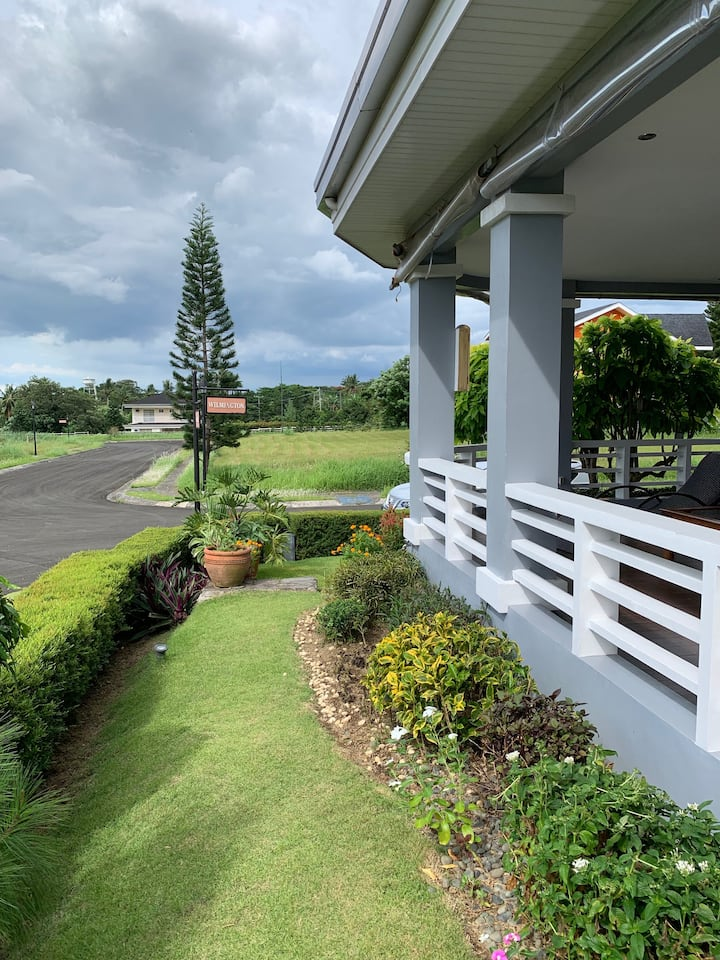 Countryside home in Tagaytay  with full terrace