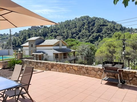 Casa a 25 km de Barcelona plena Naturaleza