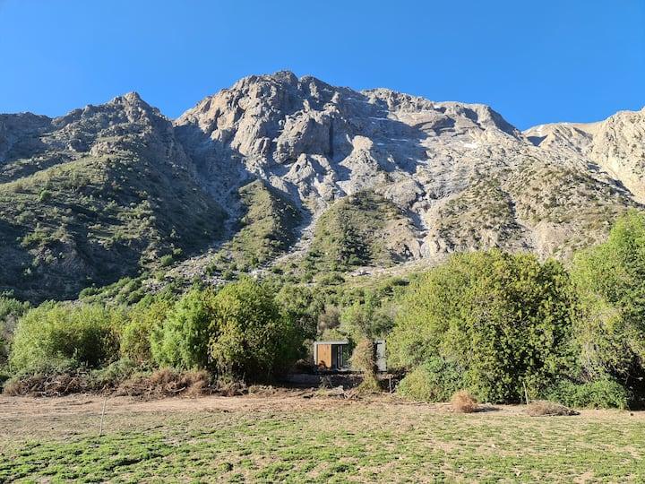 Exclusiva Tiny Cabin en la Cordillera de los Andes