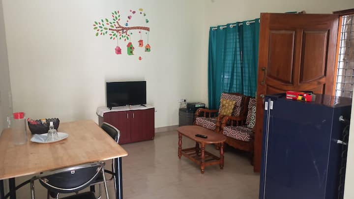 Ur second home 1BHK at  krpuram Kitchen with Stove
