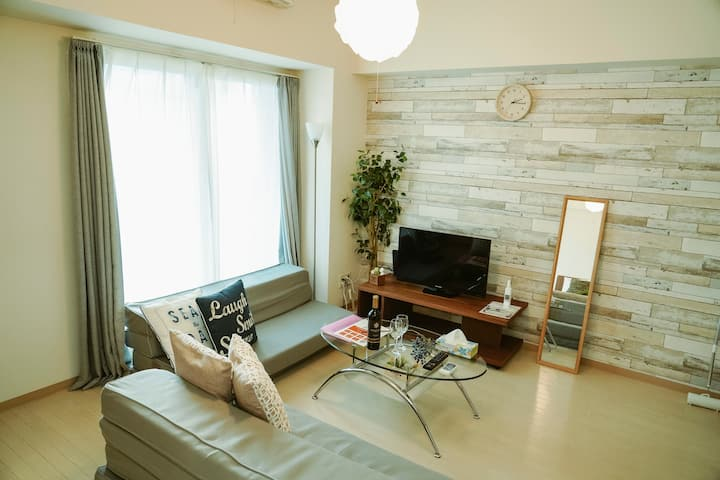 (BT305)Clean & comfortable room in Sapporo