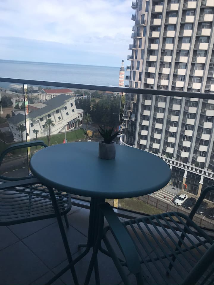 Studio with Sea view in Sea tower hotel
