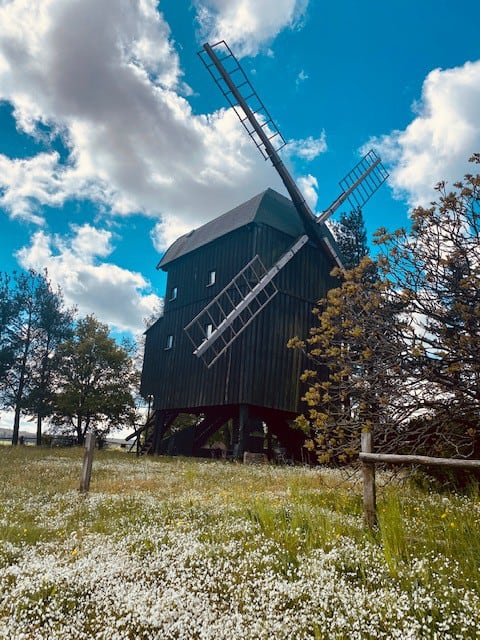 Mølleoplevelse nær Spreewald