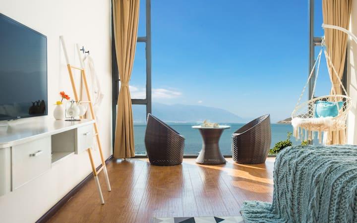 最美海岸线,全落地窗海景,整层四间房,可住4-8人,房间数量房型可选,含早餐