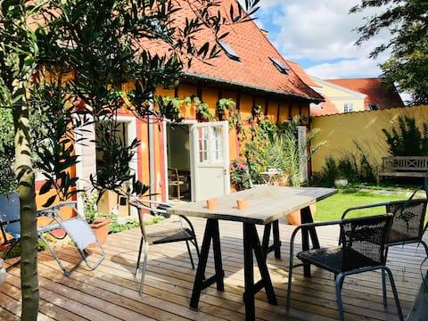 Faaborgs smukkeste hus med dejlig have