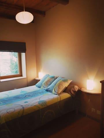 chambre 2 : un lit double