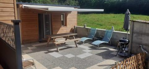 Studio neuf 23 m2 entièrement équipé avec terrasse