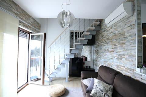 Cassino - Appartamento Duplex - Parco Rondo